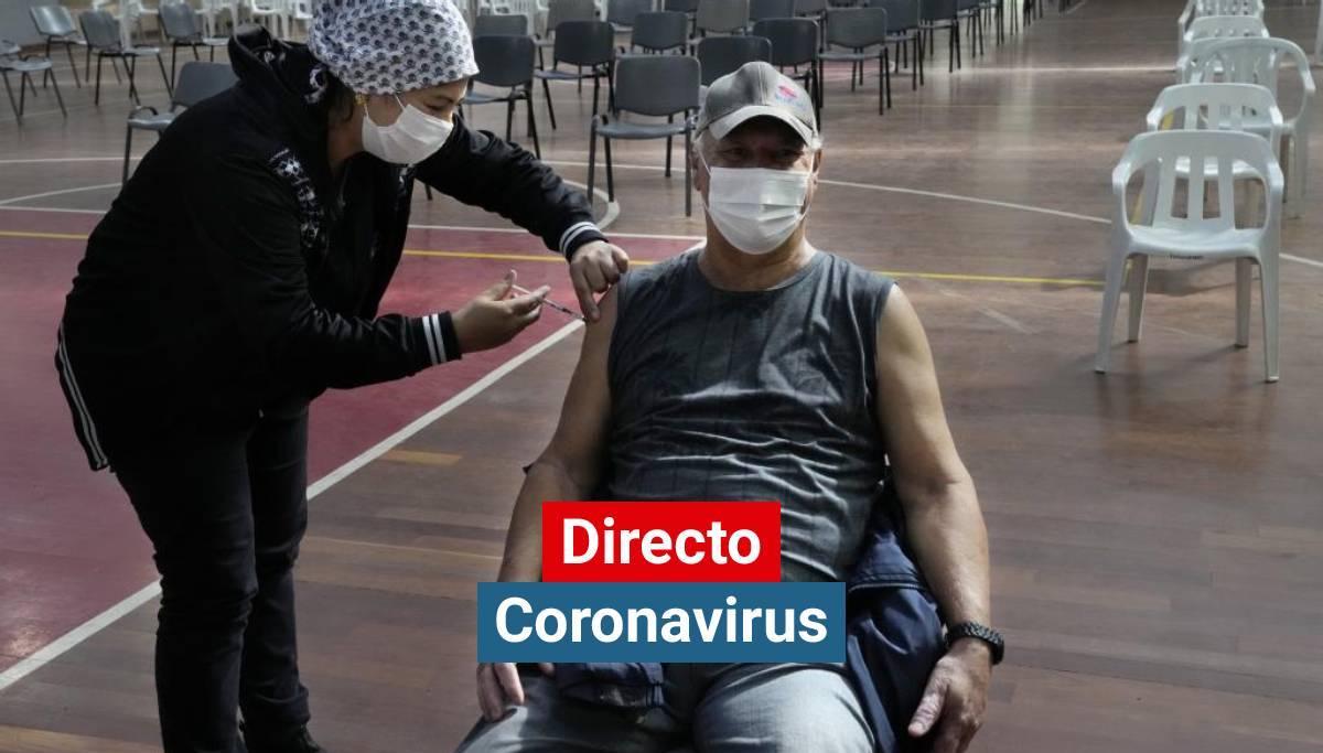 Coronavirus España hoy, última hora | El 33,5% de la población ha recibido ya la pauta completa de la vacunación