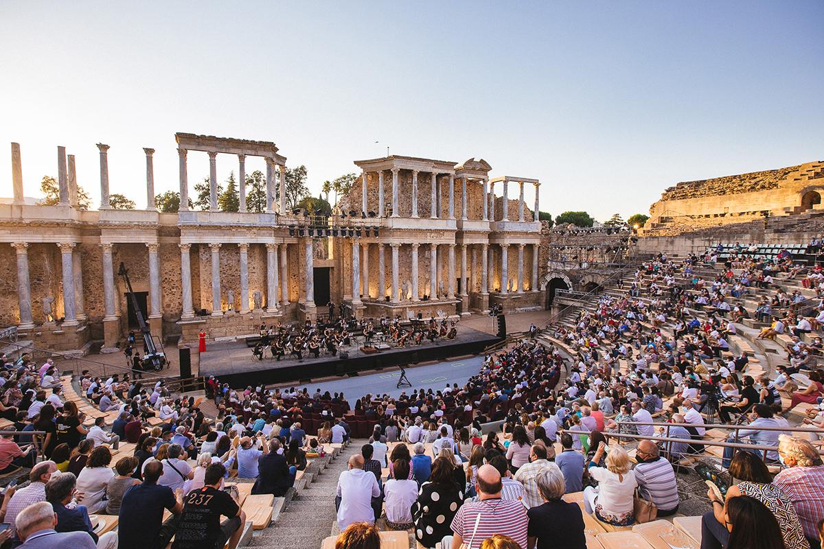 El concierto que abre el Festival de Mérida, este viernes.