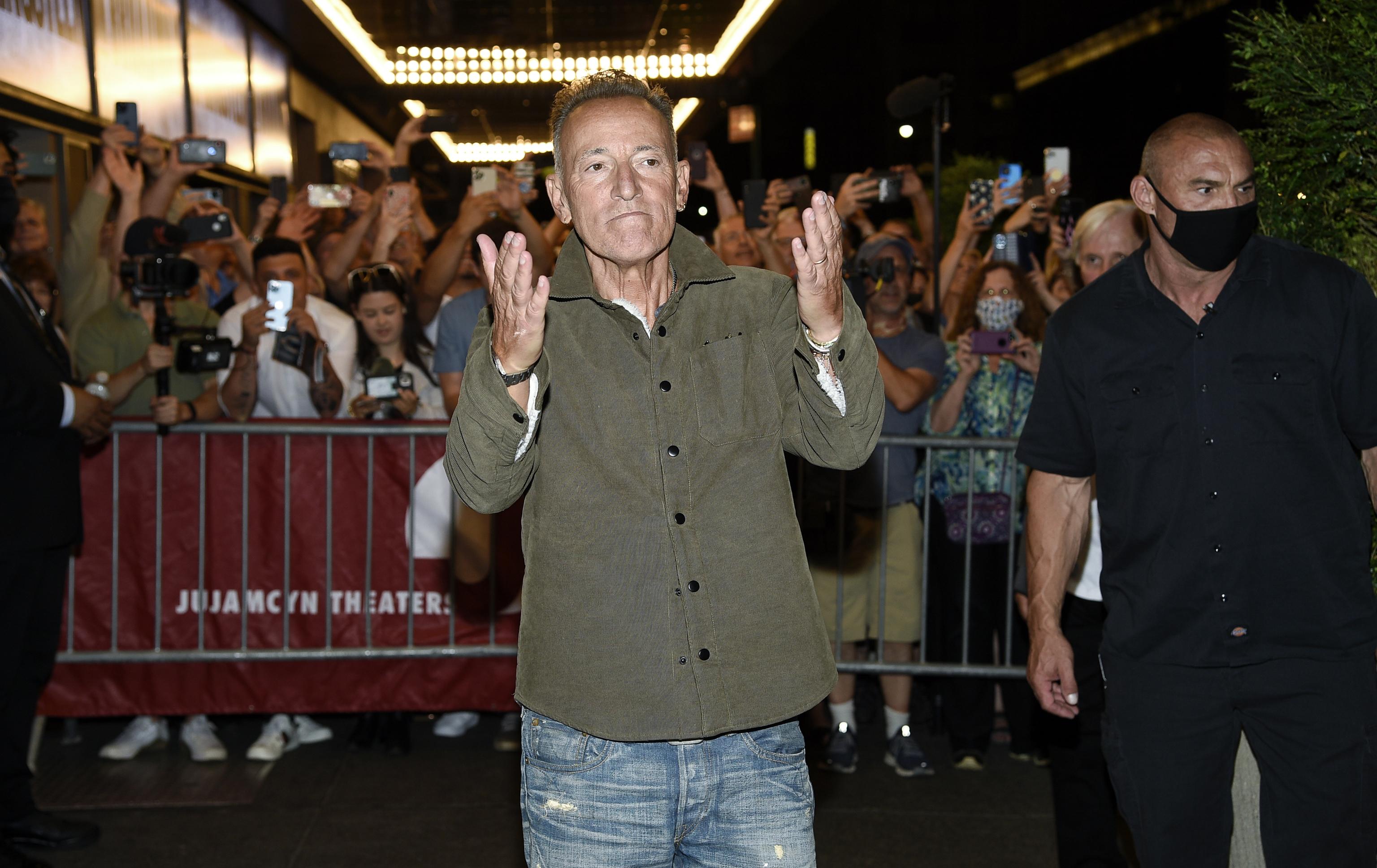 Bruce Springsteen, en St. James Theatre.