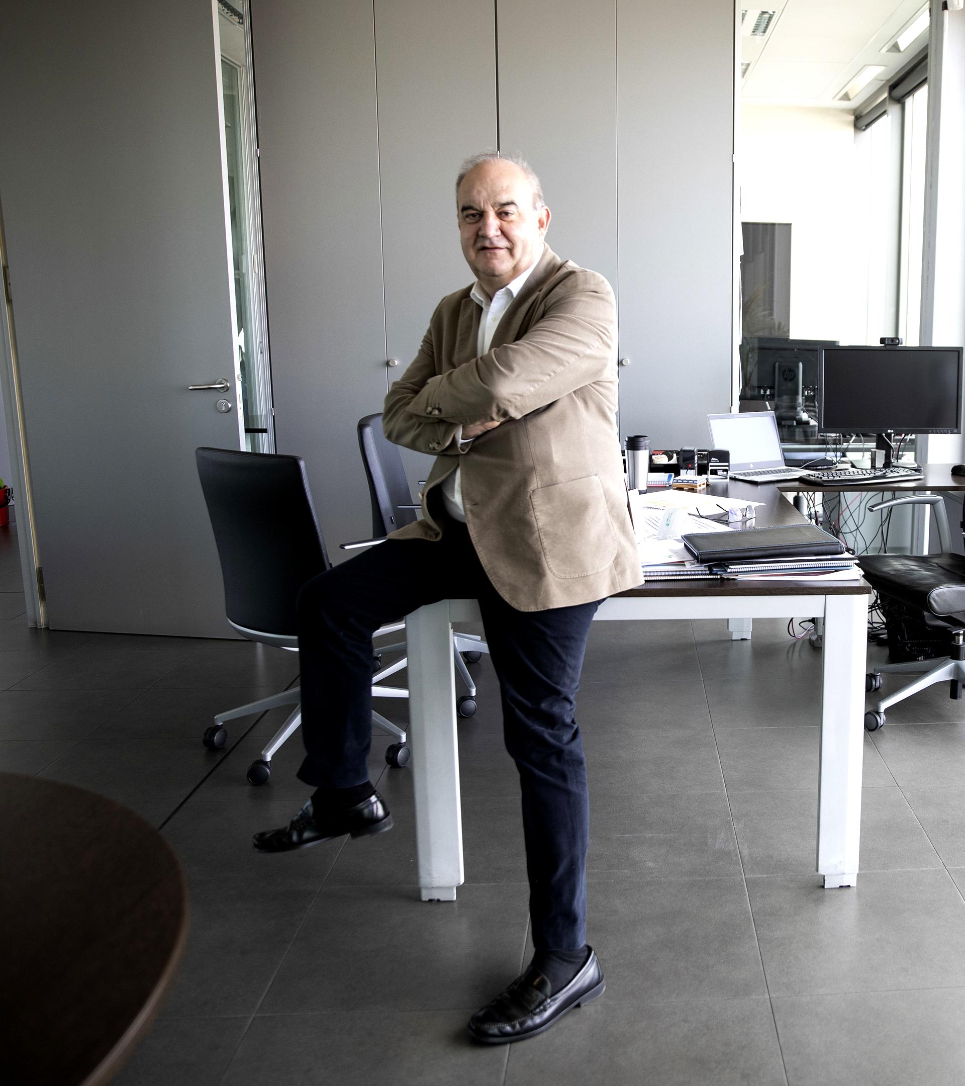Andrés Hernando, CEO y fundador de Hiperbaric, el emperador de  las altas  presiones