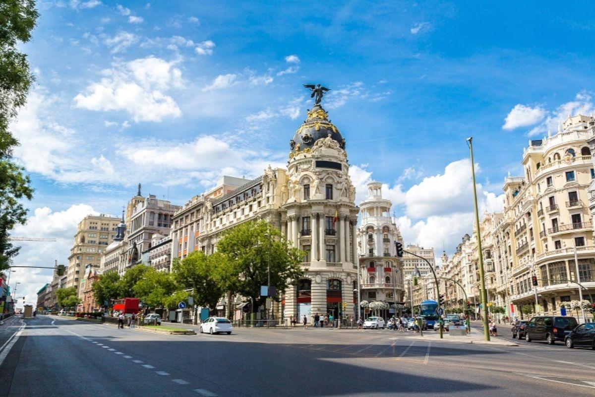 Edificio Metrópolis, en la Gran Vía madrileña.
