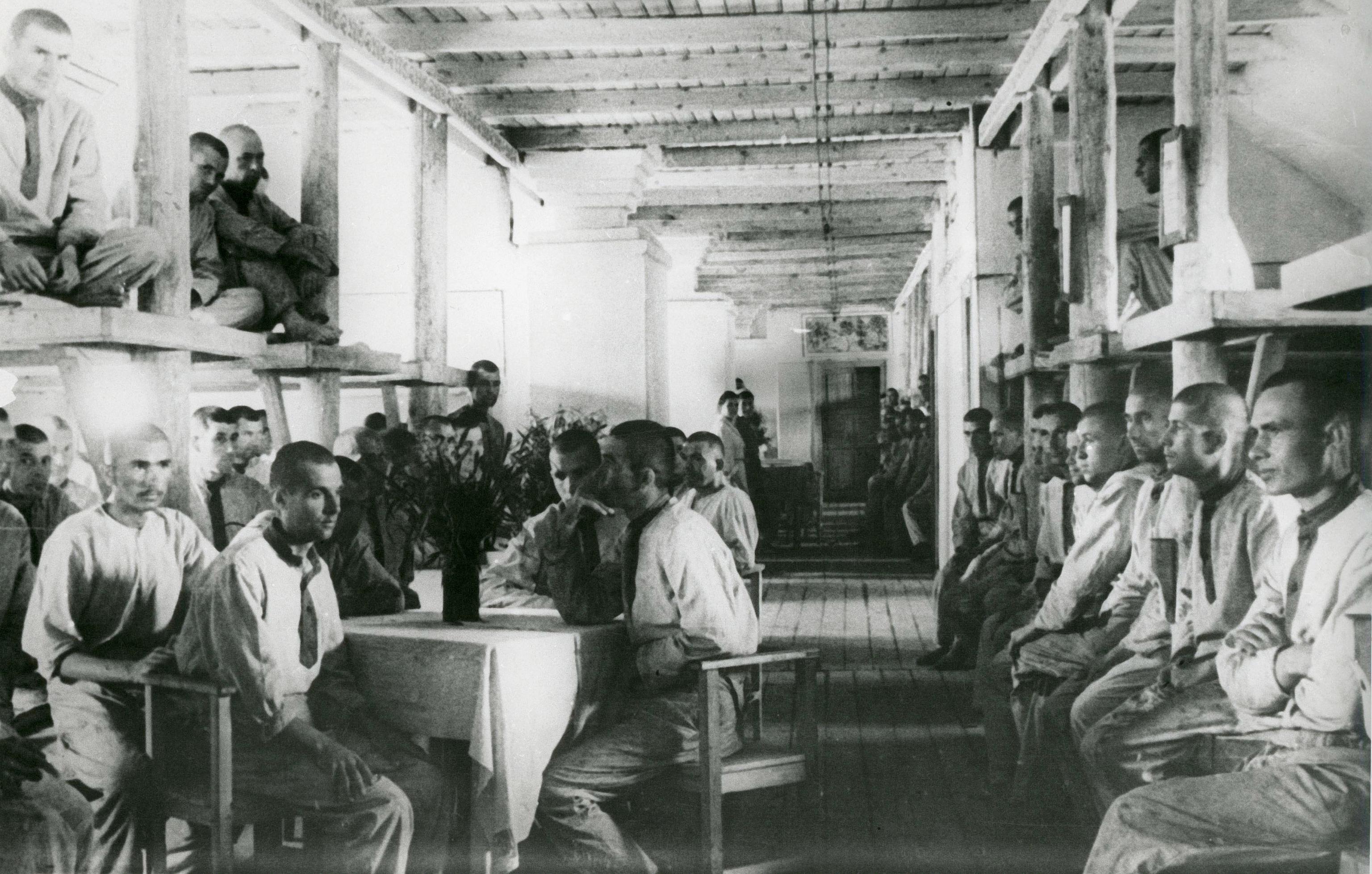Prisiones del gulag Vorkuta, en 1945.