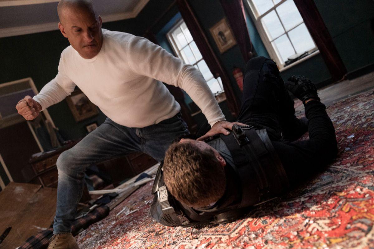 Dom (Vin Diesel), mano a mano con Jakob (John Cena)