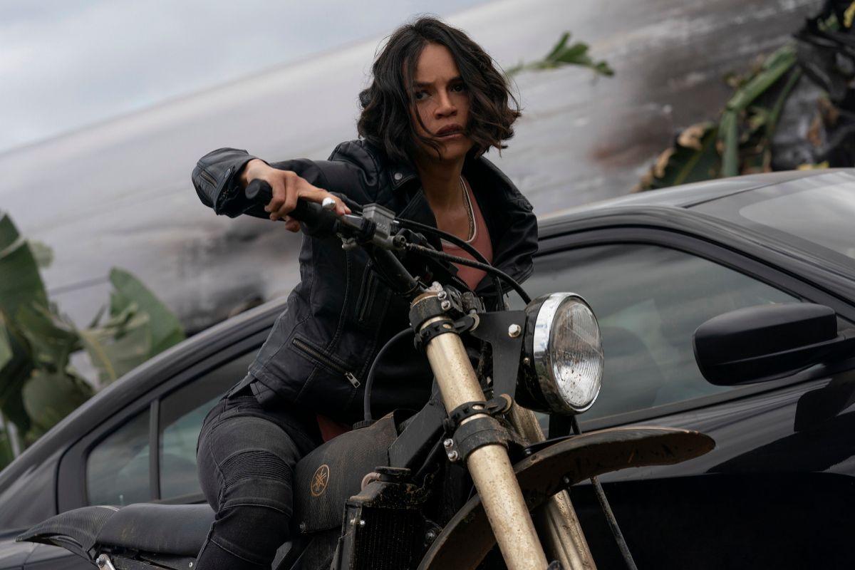 Michelle Rodriguez repite como la intrépida Letty.