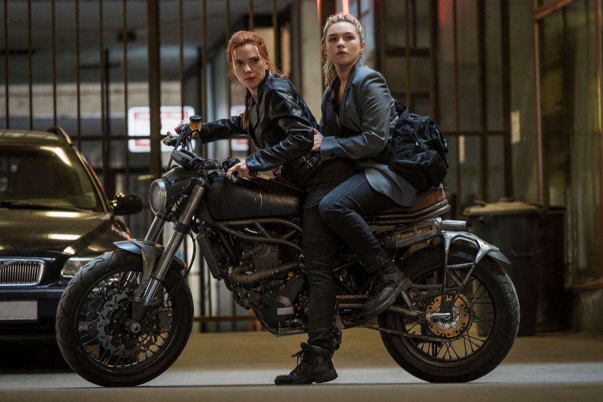 Natasha (Scarlett Johansson) y Yelena (Florence Pugh).