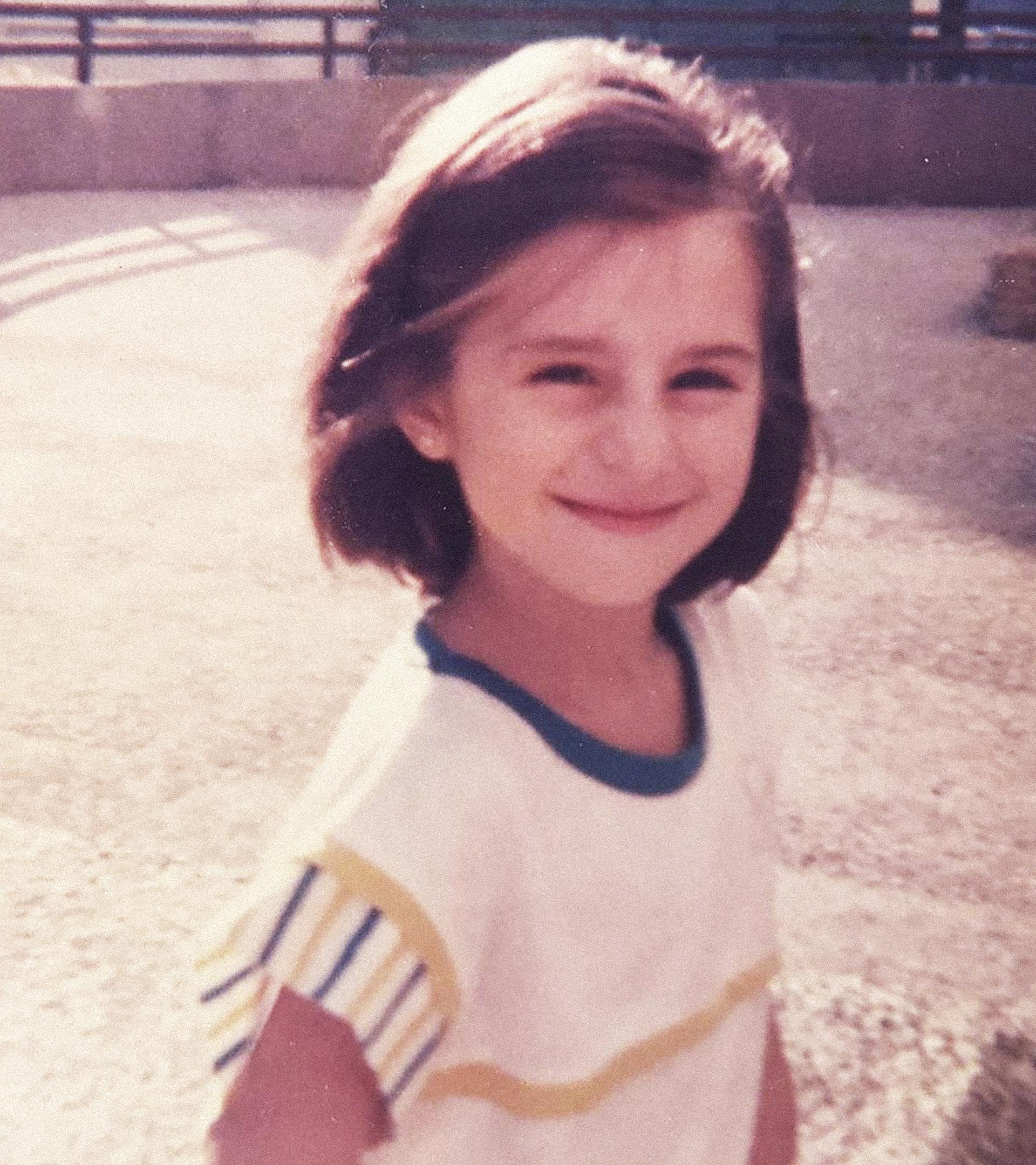 Foto de infancia de Mala Rodríguez, hecha por su madre.