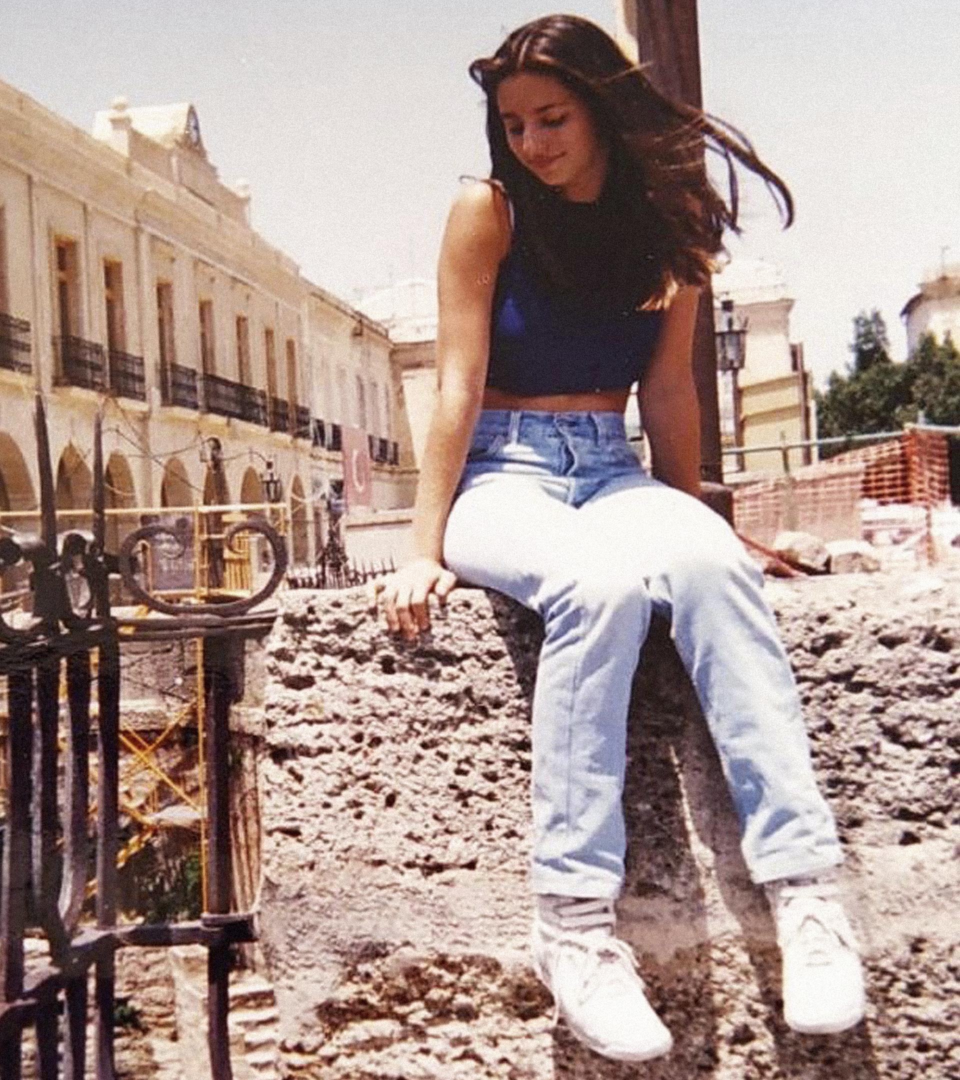 Mala Rodríguez, en la adolescencia, fotografiada por su madre.