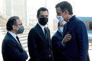 """Pedro Sánchez, tras el acto en el Liceo de Barcelona: """"¿Qué le pasa a Jaume Giró?"""""""