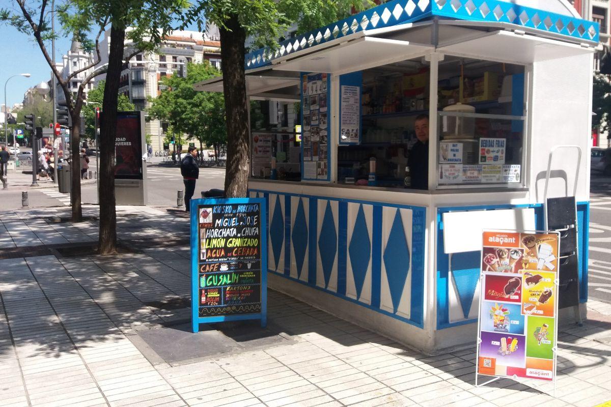 Kiosko de Horchata Miguel y José.