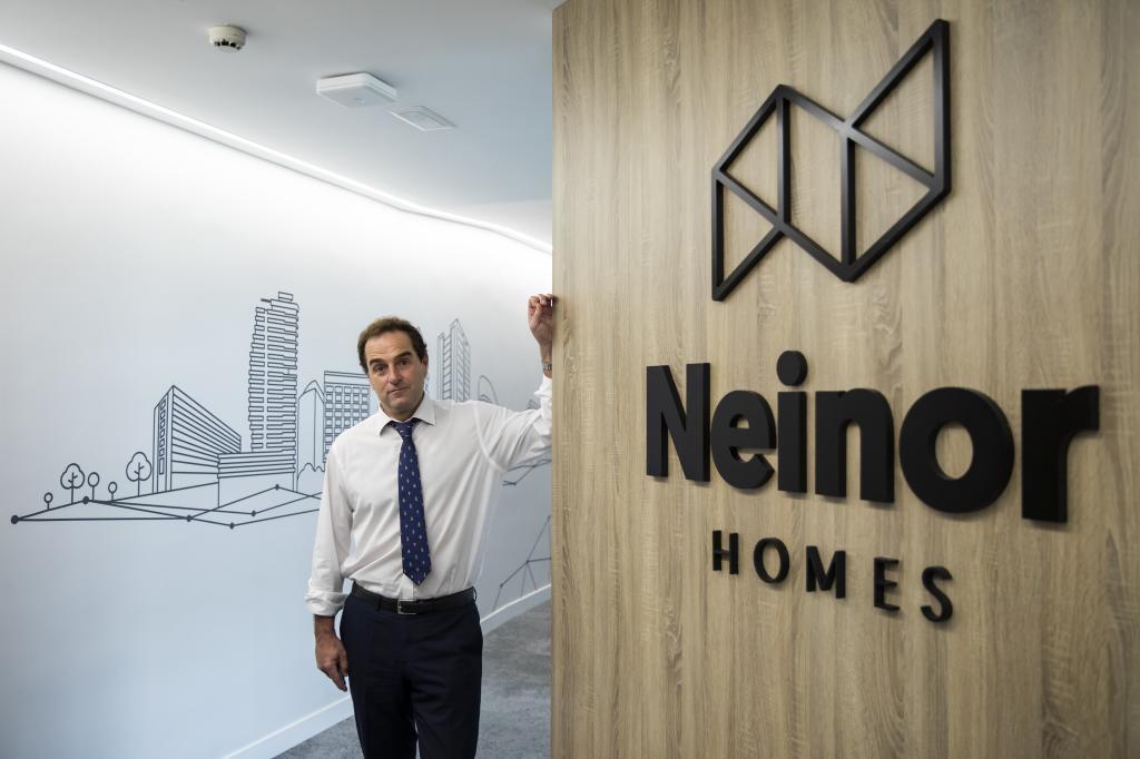 Borja García-Egotxeaga, CEO de Neinor Homes.