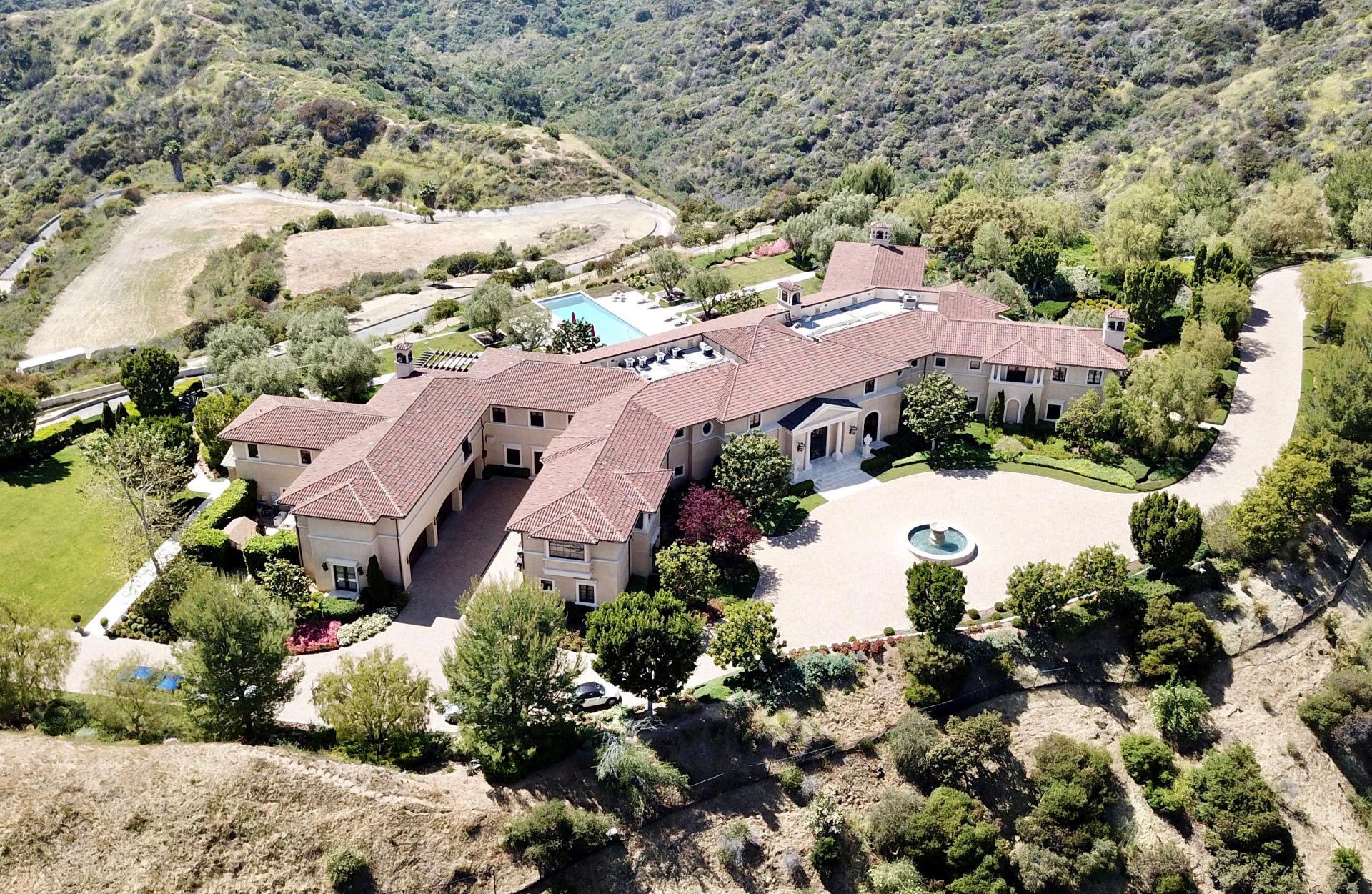 La casa de Harry y Meghan, en Los Ángeles.