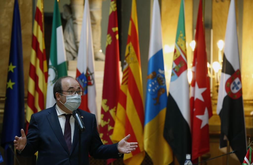 El ministro de Política Territorial y Función Pública, Miquel Iceta,