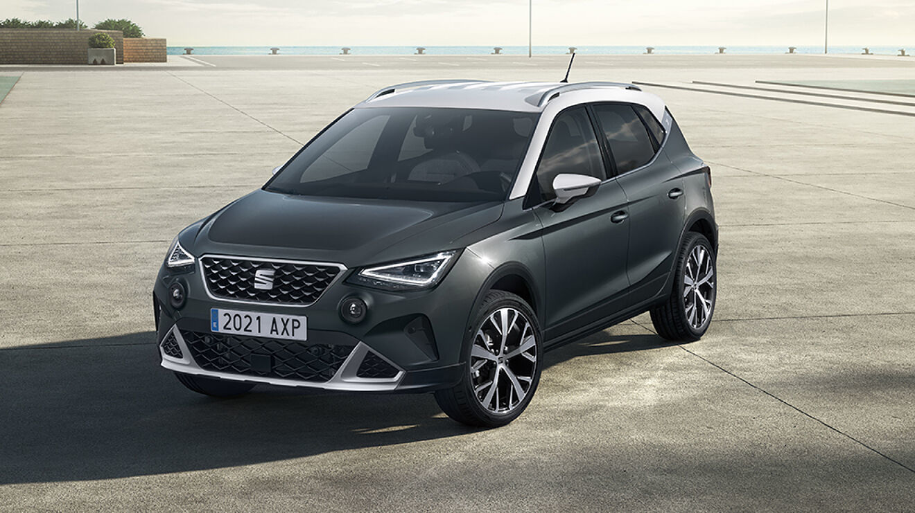 El Seat Arona es el modelo más vendido en 2021. Seat Arona 2021, SUV urbano, SUV compacto