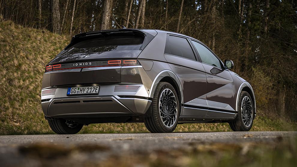 Trasera del Hyundai Ioniq 5, coches eléctricos, Hyundai Ioniq, submarca