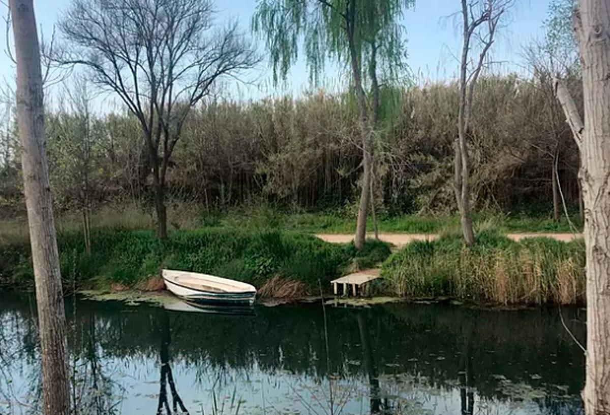 Paraje natural del Clot de la Mare de Déu de Burriana, cercano a donde apareció el cadáver.