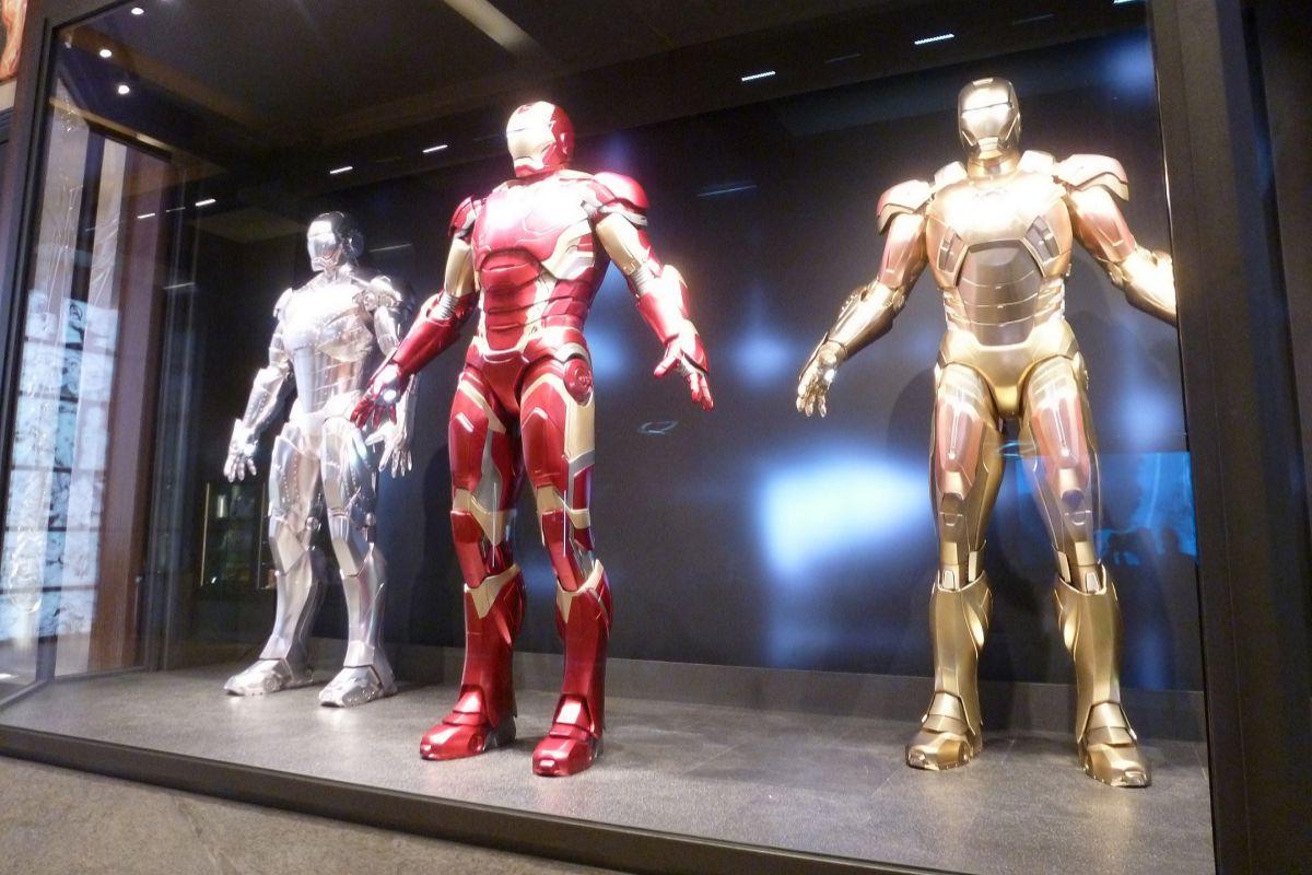 Armaduras de Tony Stark.