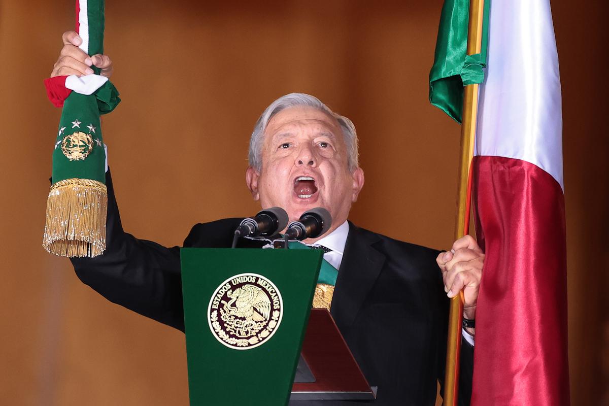 El presidente mexicano, López Obrador.