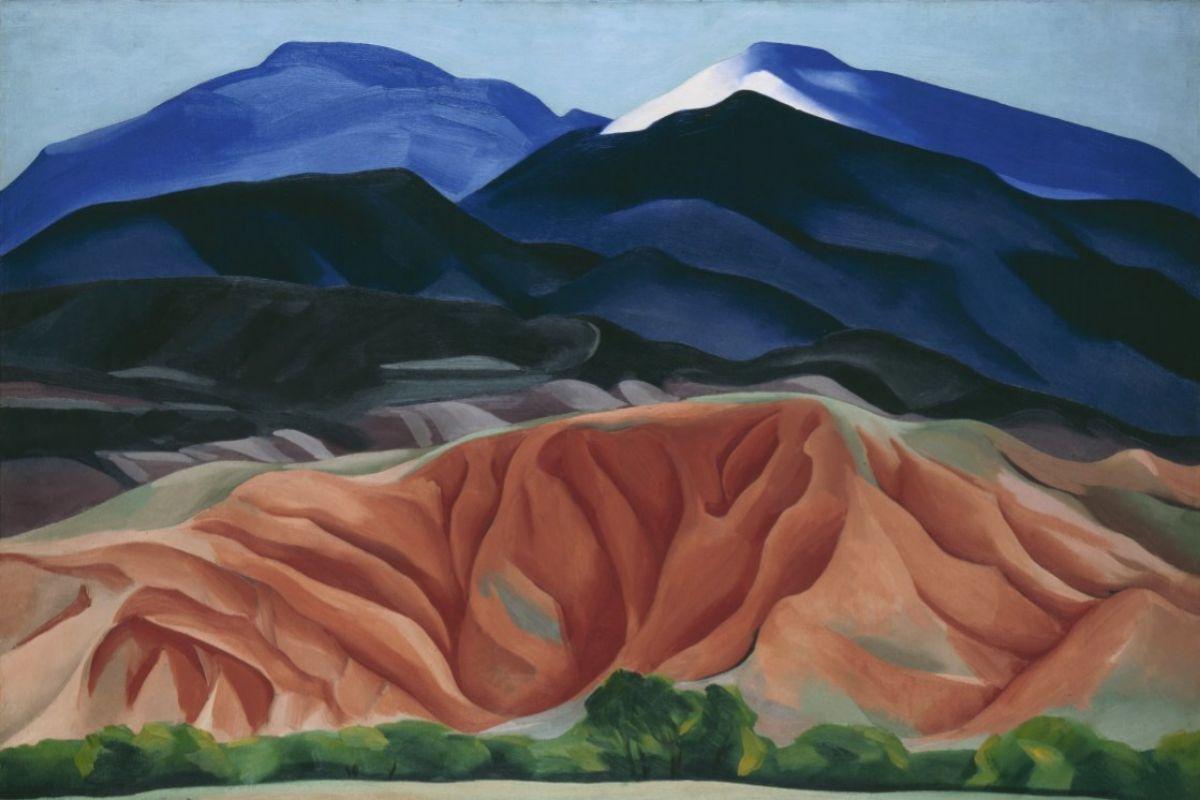 Cuadro de Georgia O'Keeffe.