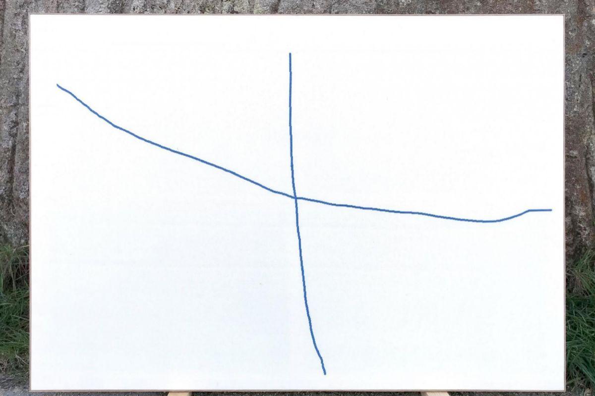 'Dinmica de_la_cruz', de Julia Huete en ARCO.