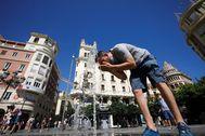 Una ola de calor llega a España.
