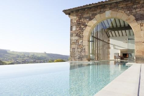 La piscina climatizada.