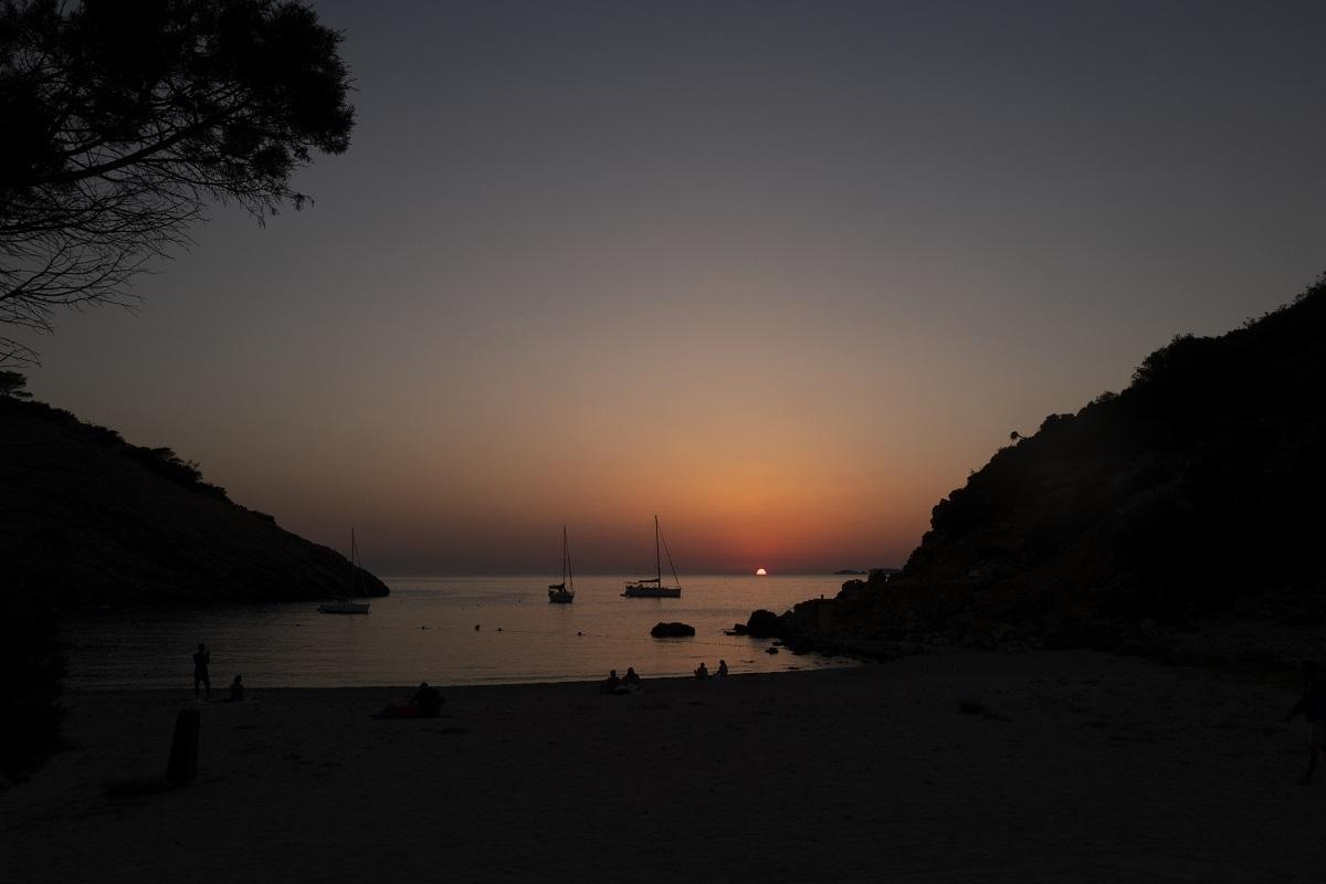 Puesta de sol desde El Silencio.