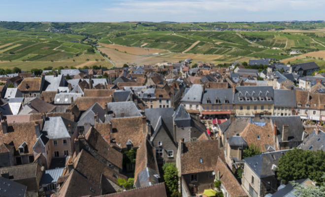 El pueblo de Sancerre, en el Valle del Loira.