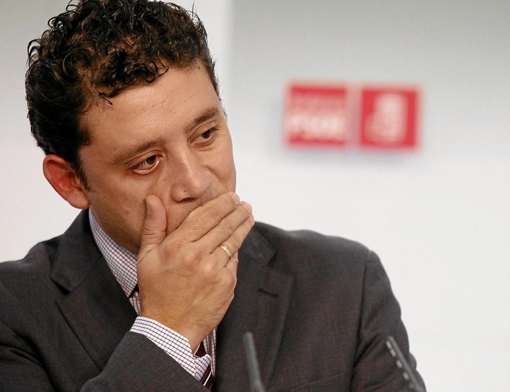 El ex número 2 del PSOE andaluz, Rafael Velasco, en una imagen de 2010.