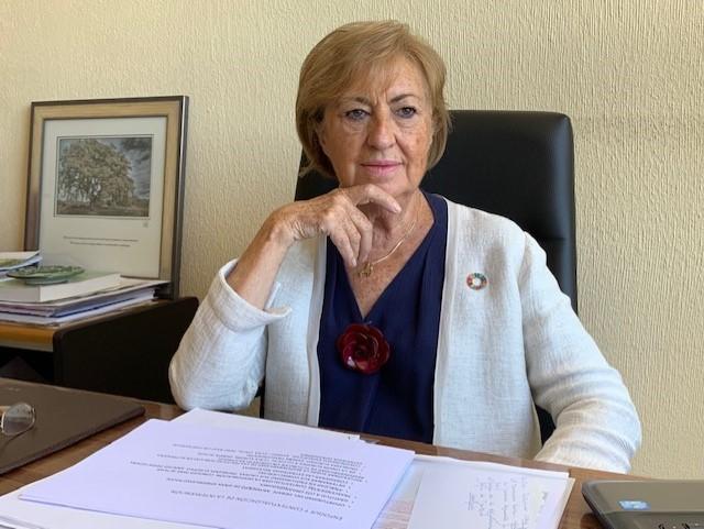 Mercedes Molina, catedrática emérita de Geografía Humana en la Universidad Complutense de Madrid