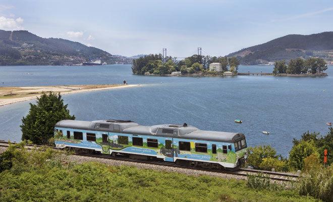 La ría de Vigo es la protagonista de otro de los recorridos.