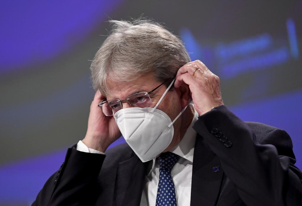 El Comisario Europeo de Economía, Paolo Gentiloni