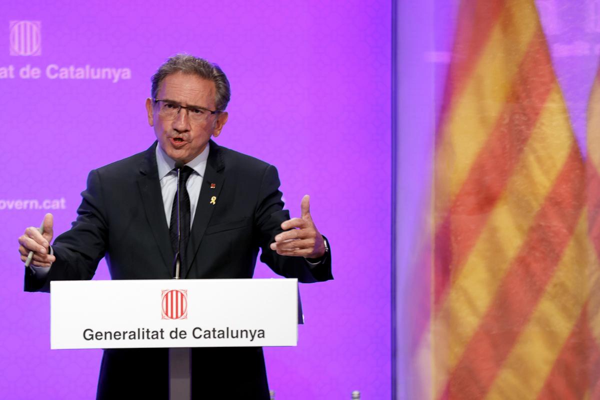 El consejero de Economía catalán, Jaume Giró.