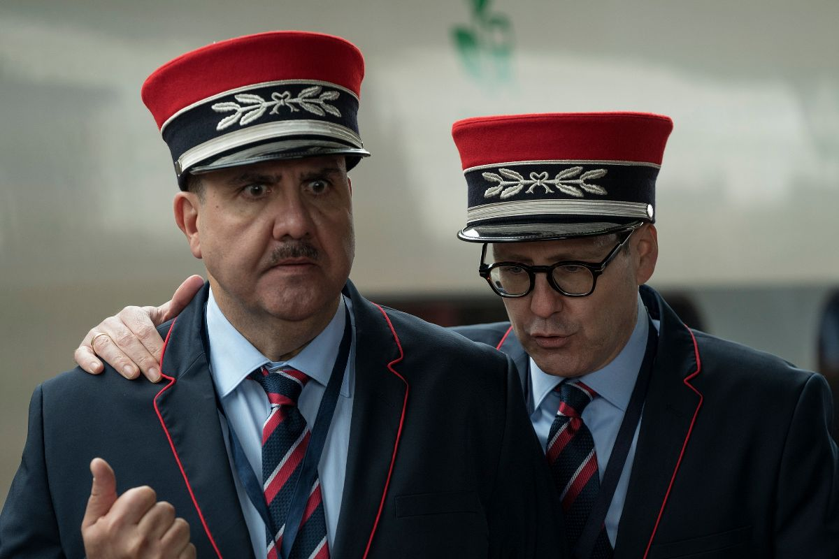 Florentino Fernández y Joaquín Reyes dan vida a dos revisores de tren.