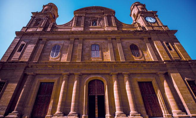 Templo Matriz de Santiago de los Caballeros de Gáldar.