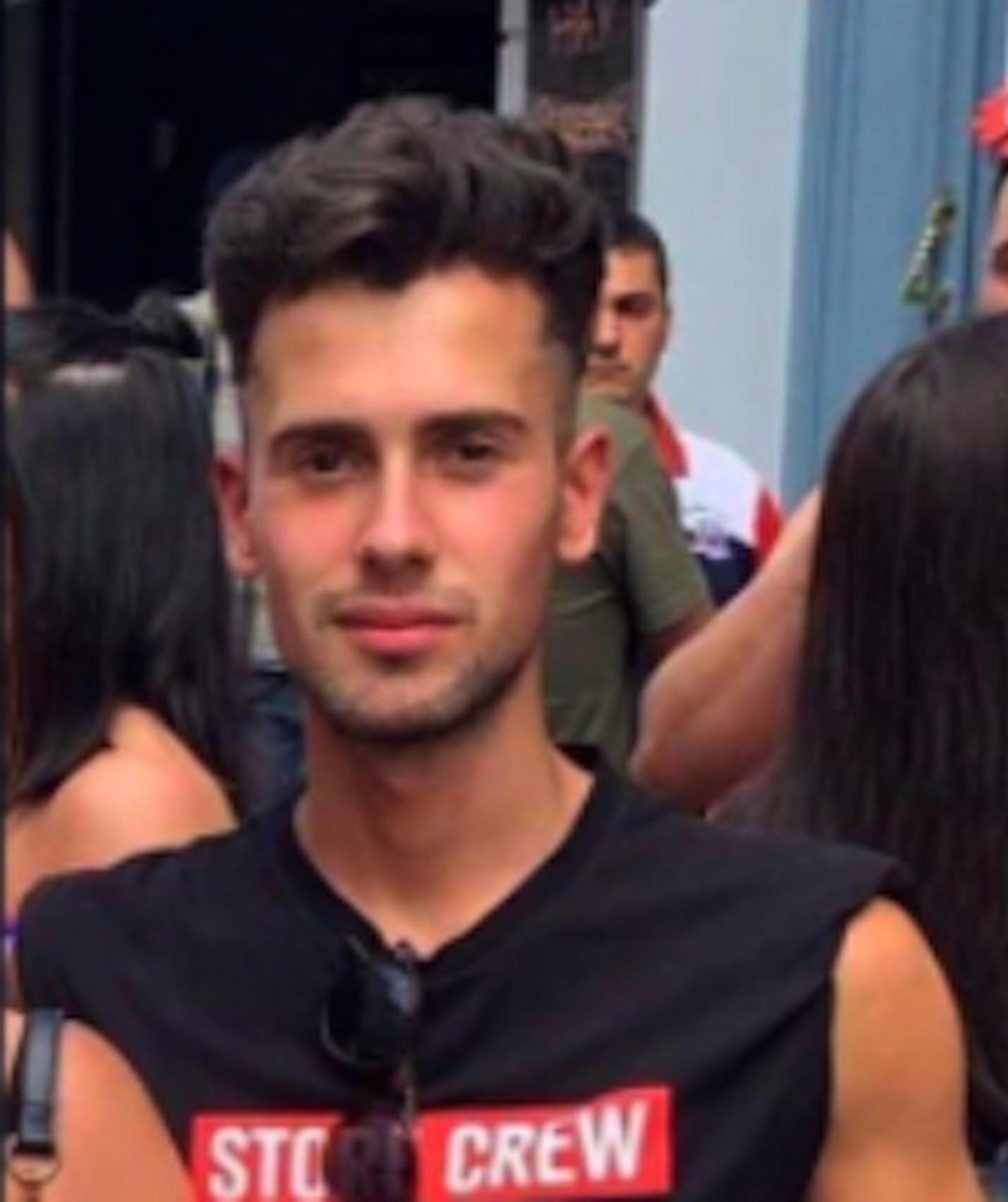 El joven asesinado, Samuel Luiz.