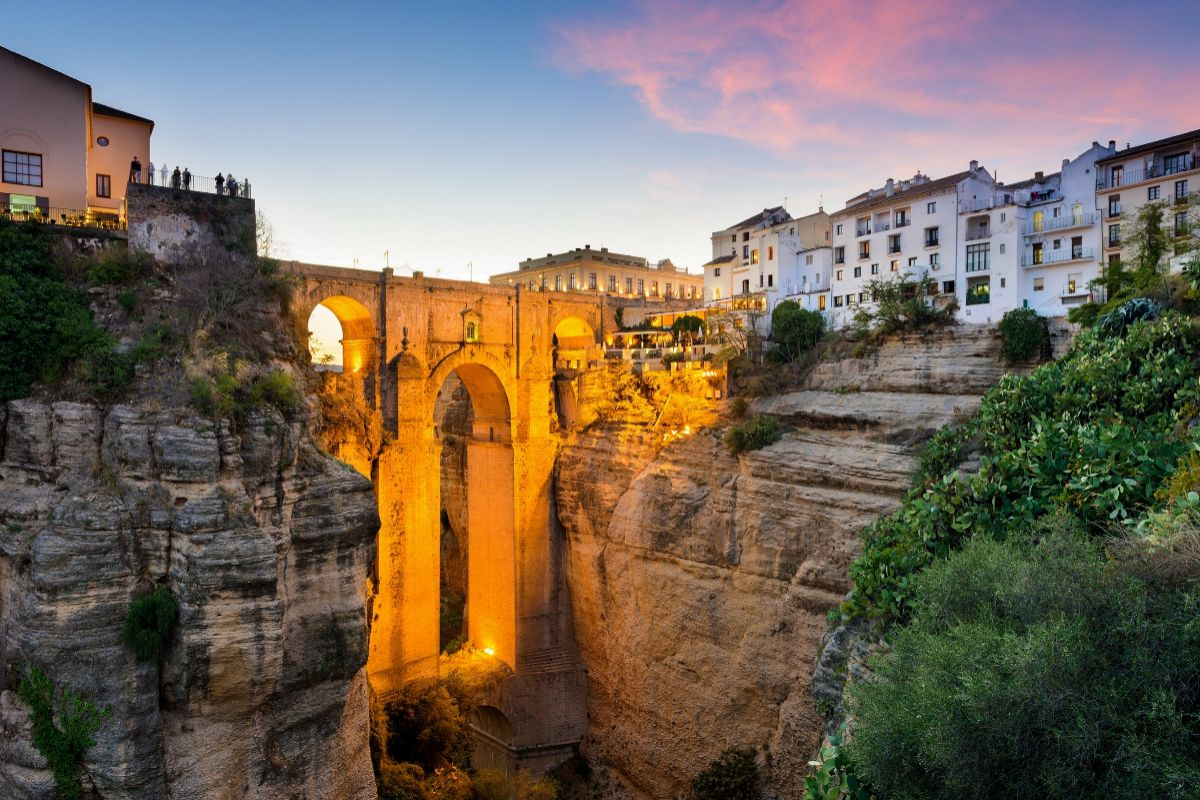 Ronda (Málaga). Foto: Shutterstock.