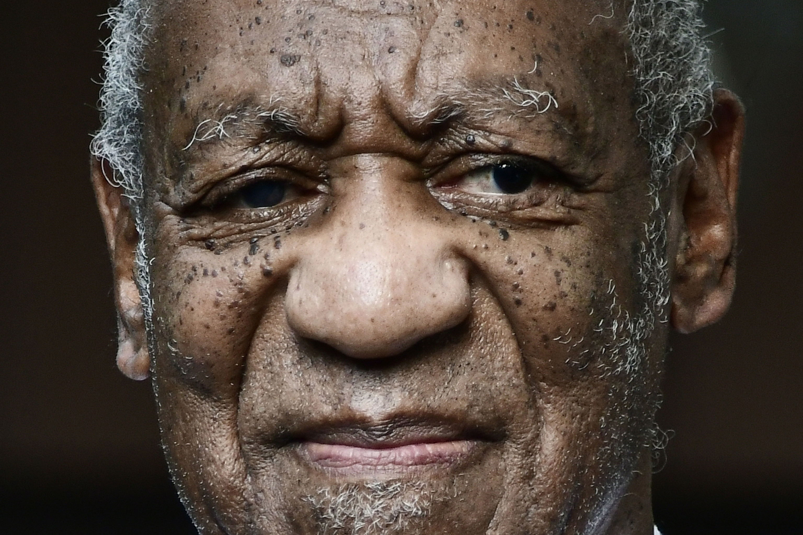 Bill Cosby after being released.
