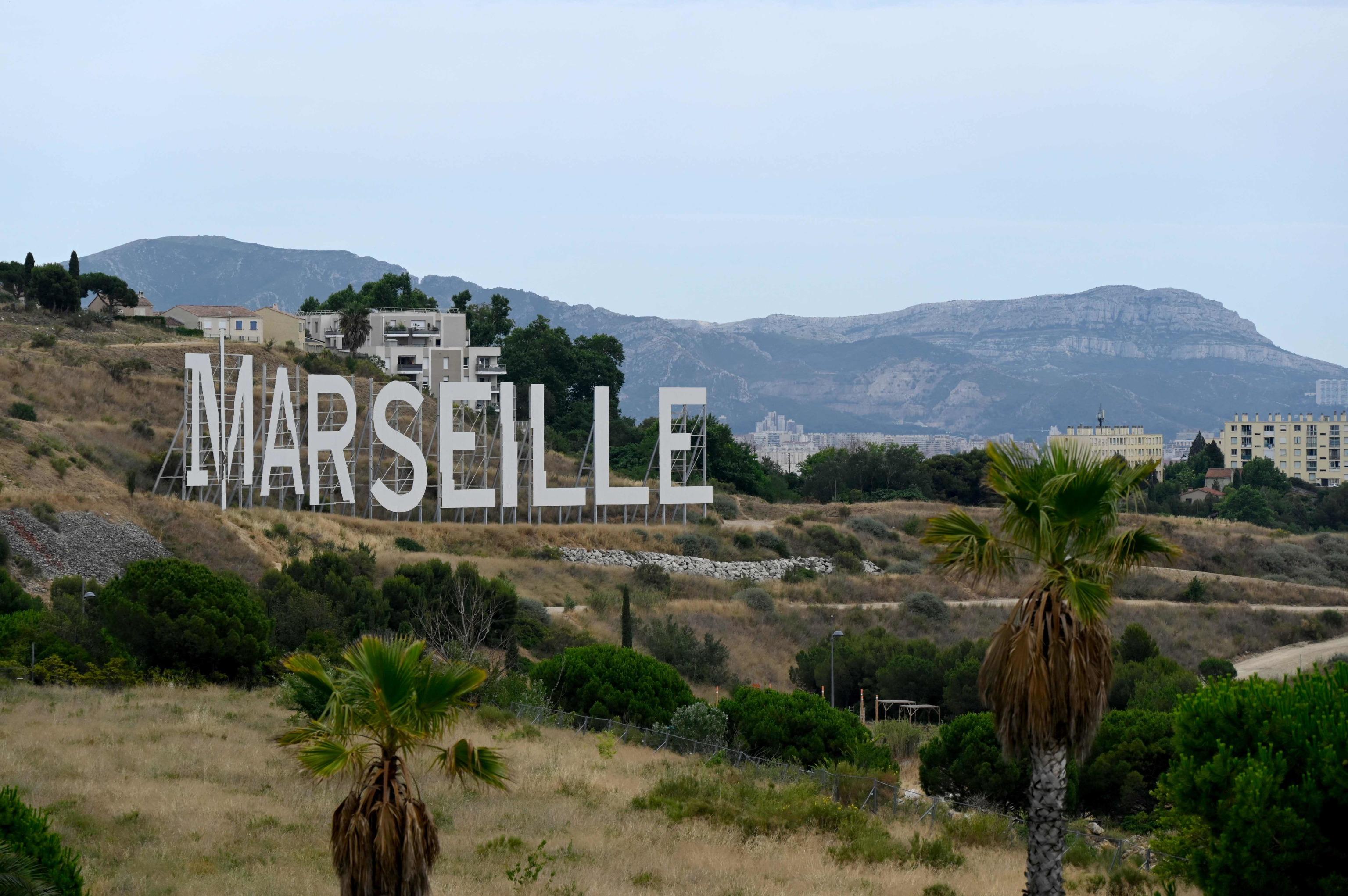 Marsella, al sur de Francia.