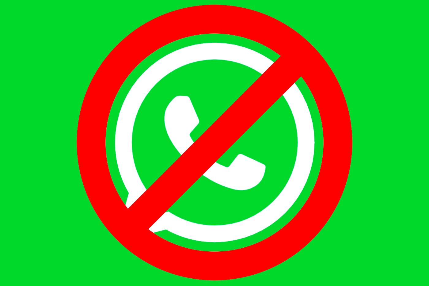 WhatsApp desactivará primero tu cuenta de forma temporal y más tarde la eliminará definitivamente.
