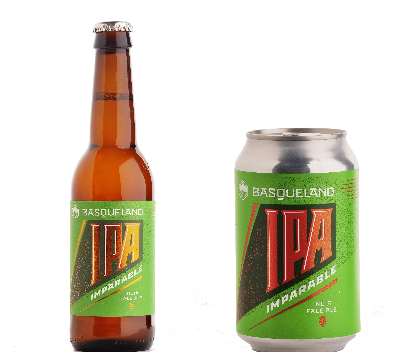 Basqueland, elegida mejor cervecera en el BBC, envasa en lata y botella su icónica Imparable.