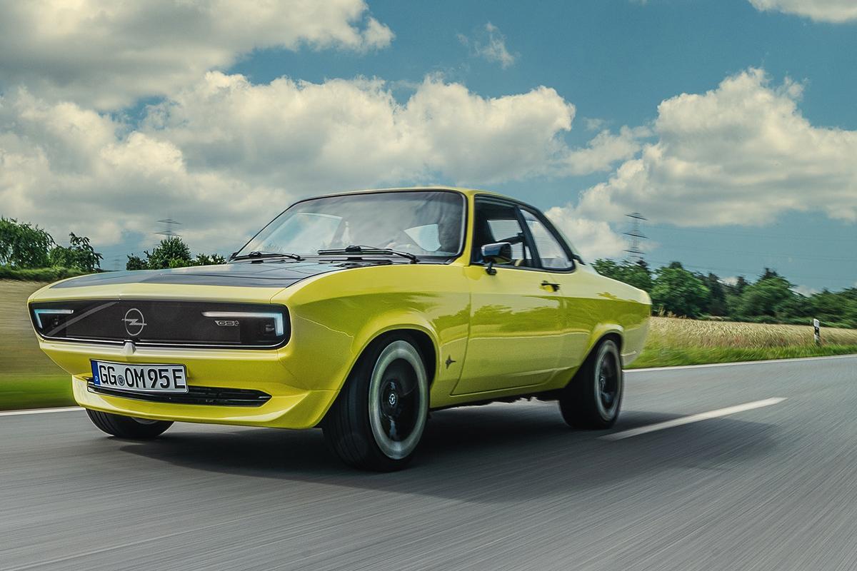 Opel resucita el Manta 50 años después como eléctrico