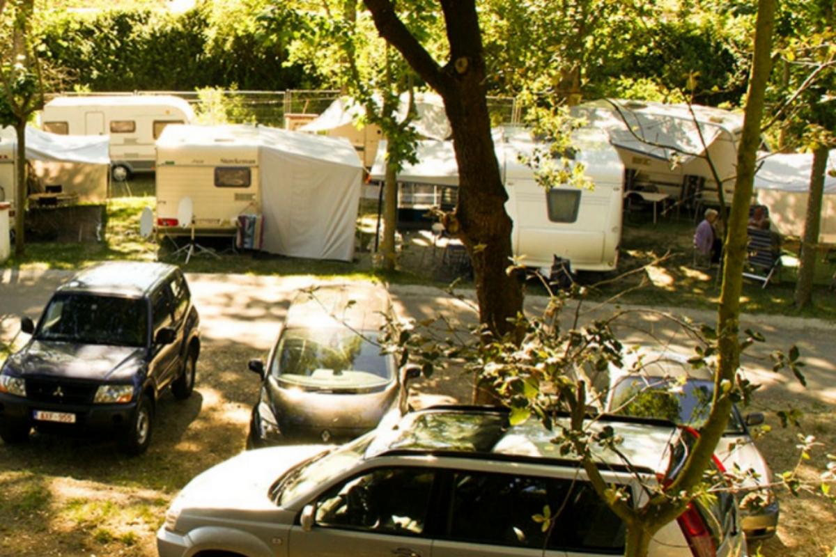 Camping Arrien de Gorliz, en Vizcaya.