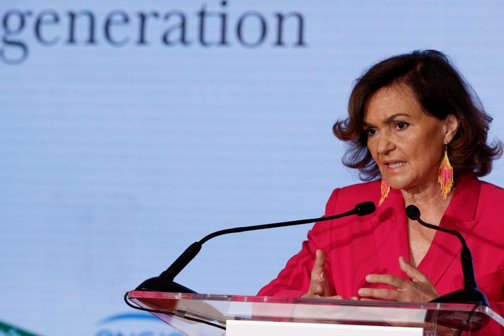 Carmen Calvo, ex vicepresidenta del Gobierno.