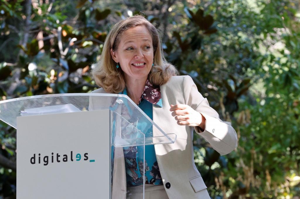 La nueva vicepresidenta del Gobierno, Nadia Calviño.