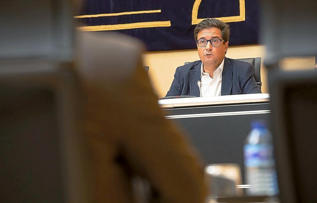 El nuevo jefe de Gabinete de Sánchez, Óscar López.