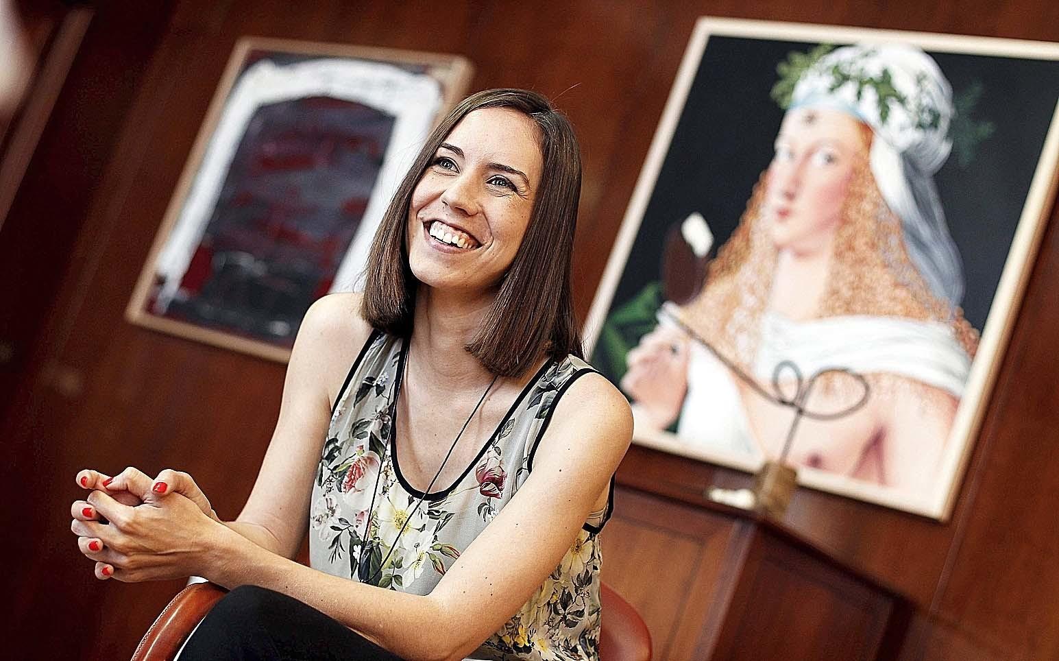 Diana Morant, la nueva ministra de Ciencia y hasta ahora alcaldesa de Gandía.