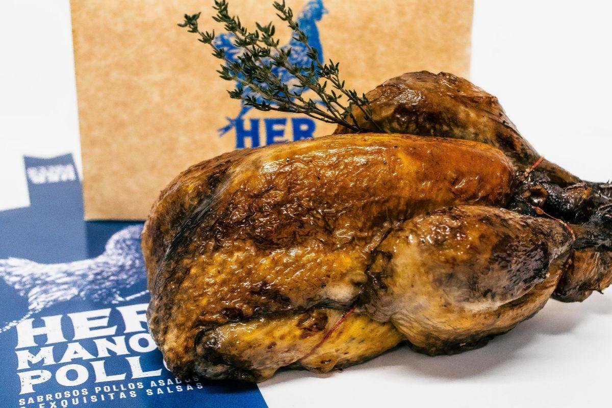 Pollo de Hermanos Arzábal.
