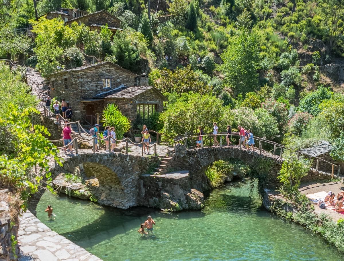 Las piscinas naturales de Piodao.