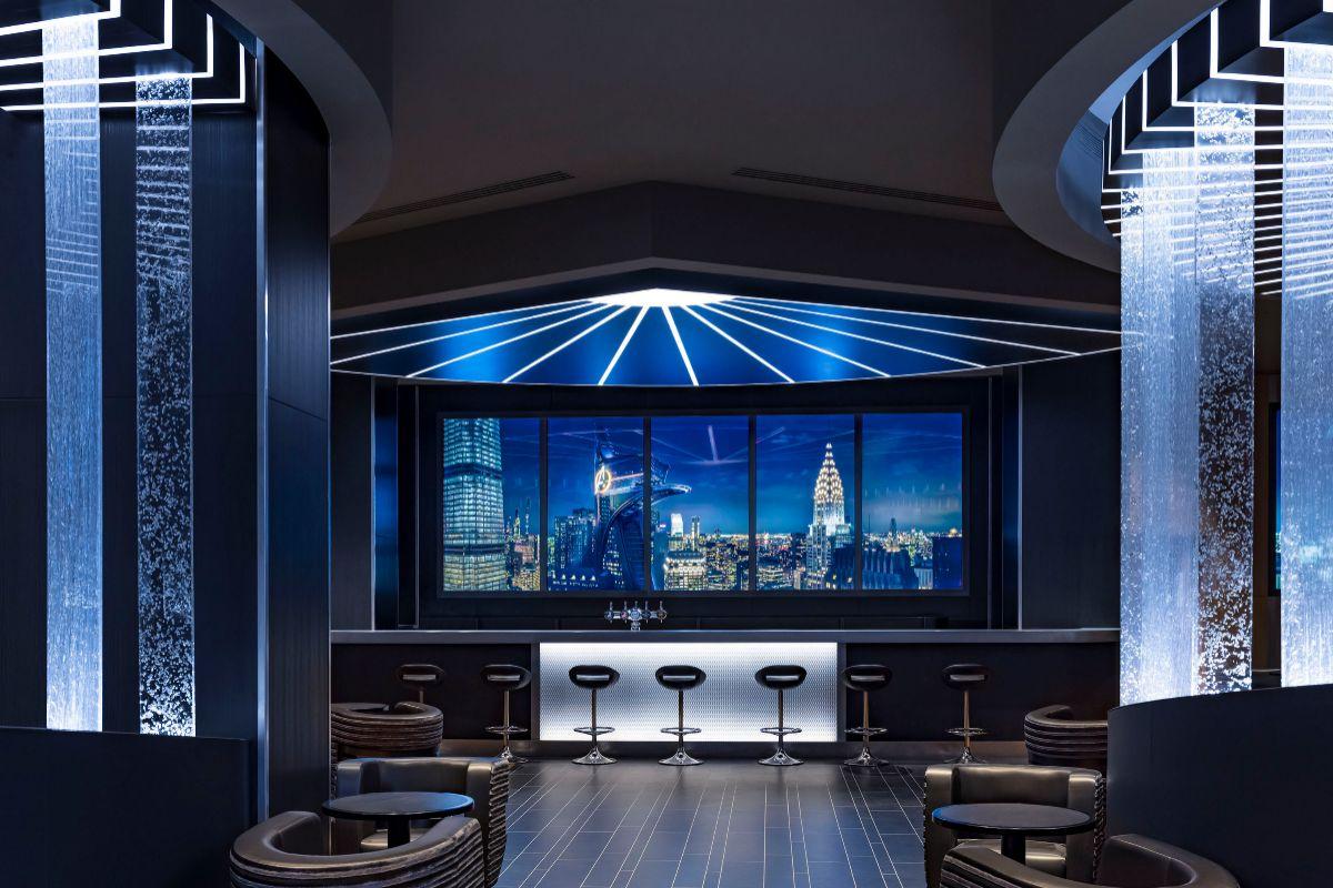 El Skyline Bar con su 'ventana panorámica'.