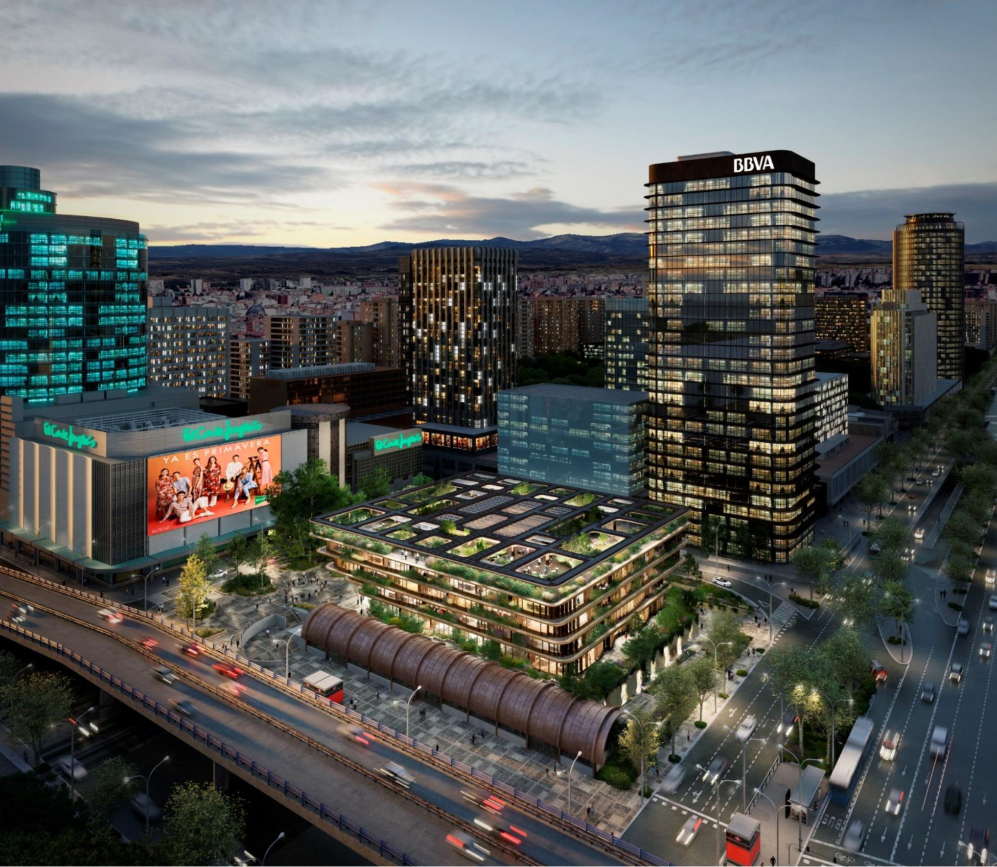 Vista panorámica del edificio.